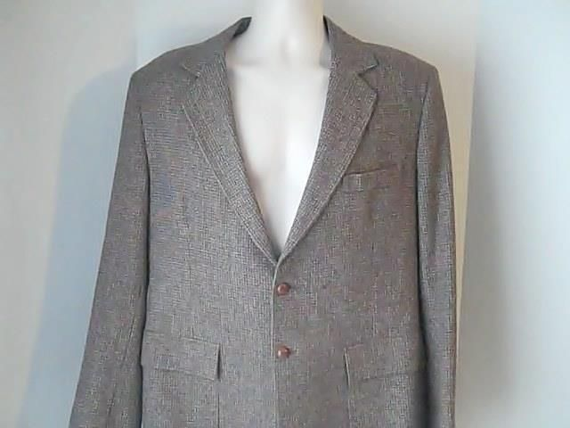 Anderson Little Mens Sports Coat Jacket Leather Elbo Patches  100% Wool #AndersonLittle #TwoButton