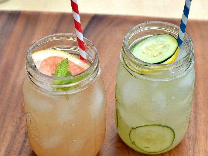 Grapefruit Cucumber Cocktails
