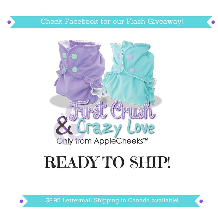 AppleCheeks First Crush and Crazy Love are ready to ship!