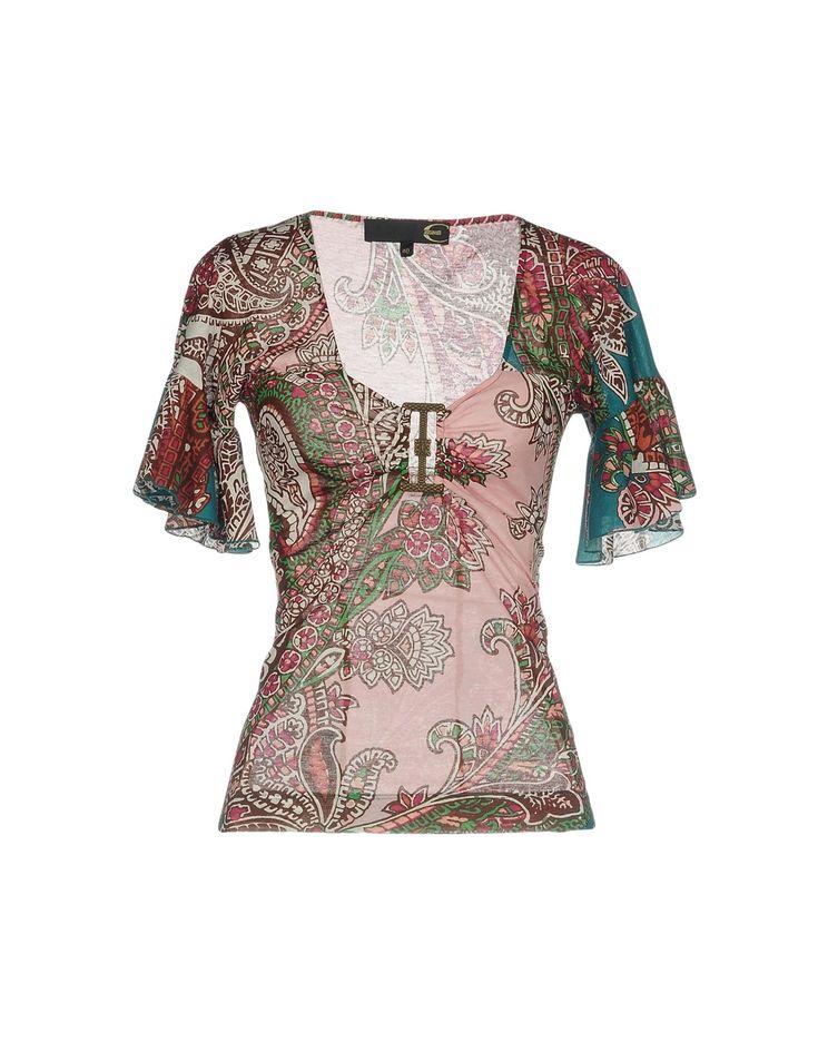 Just Cavalli Tシャツ レディース | YOOXで世界のファッションをオンラインショッピング