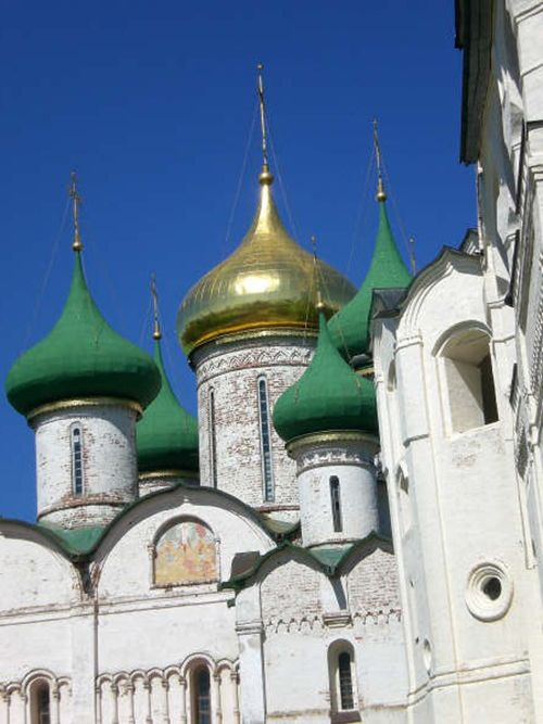 Monastery of Saint Euthymius - Suzal, Russia.