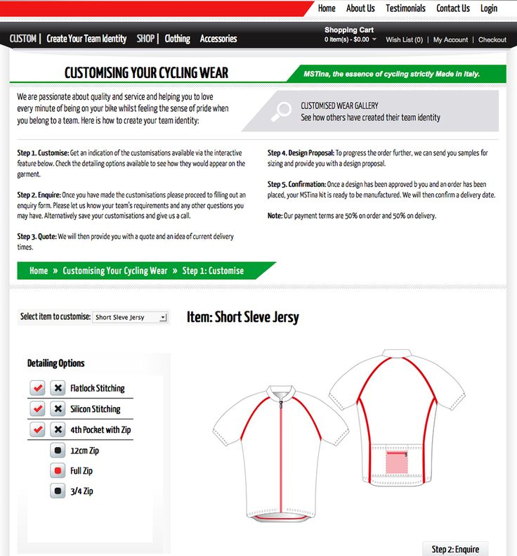 MS Tina personalised Cycling Wear - WWWShop Opencart Developers Australia