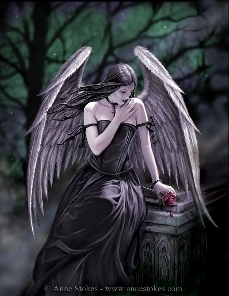 Gothic » Anne Stokes - Lost Soul