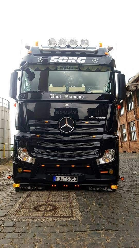 Mercedes-Benz Actros Truck | MERCEDES Trucks | Pinterest | Mercedes ...