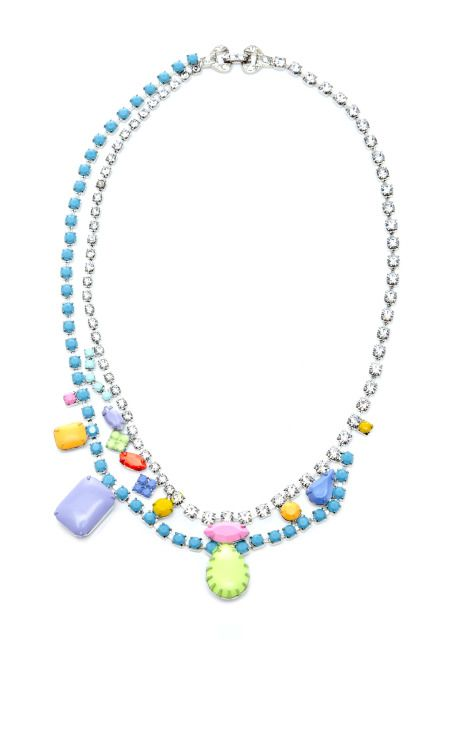 Shop Soft Power Asymmetric Necklace by Tom Binns Now Available on Moda Operandi