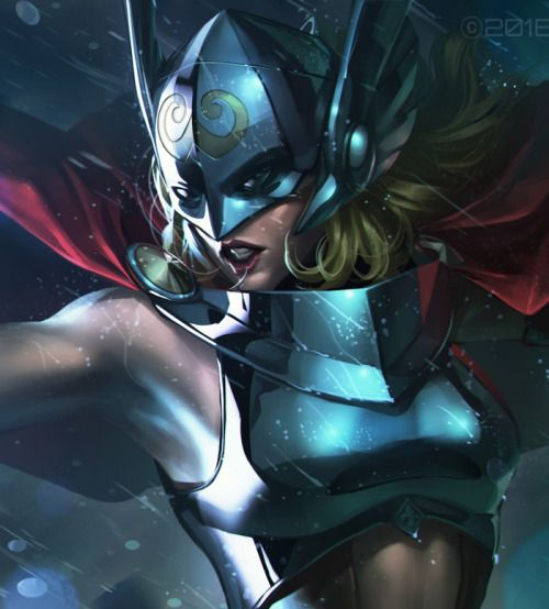 Marvel Future Fight: Jane Foster/Thor - JeeHyung Lee