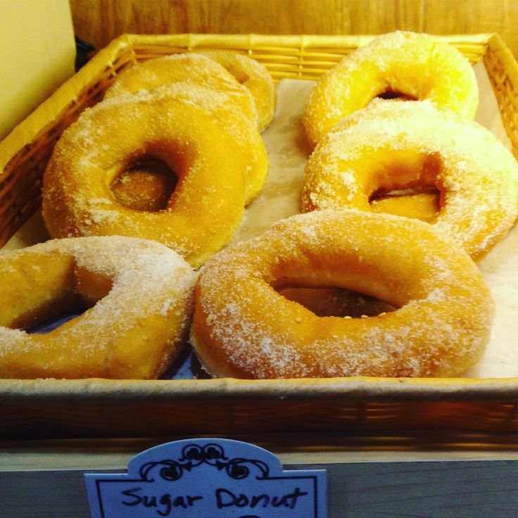 Sugar donuts.  High calorie, but no worries you can exercise later.  Order online http://www.ejoycity.ca