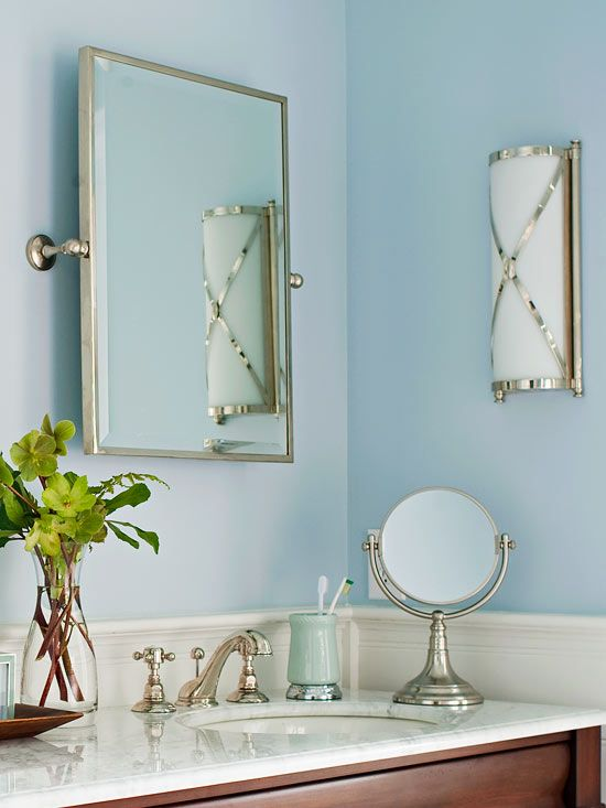 Bathroom mirror replacement cost anchor cement block