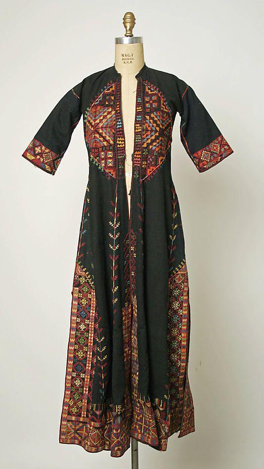 Robe, 1875-1939, Middle Eastern Bedouin, linen