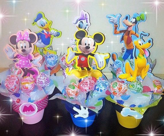 Hey, I found this really awesome Etsy listing at https://www.etsy.com/listing/263476494/mickey-mouse-clubhouse-centerpieces