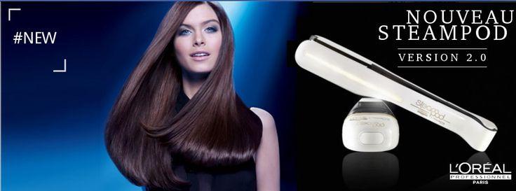 LE #lisseur high-tech vraiment génial ! #STEAMPOD 2.0 de @lorealpro . Il lisse vos #cheveux à la perfection tout en leur apportant soin et protection. Le Top !! http://www.innis-coiffure.com/steampod-lisseur-vapeur-20-2841-p.html
