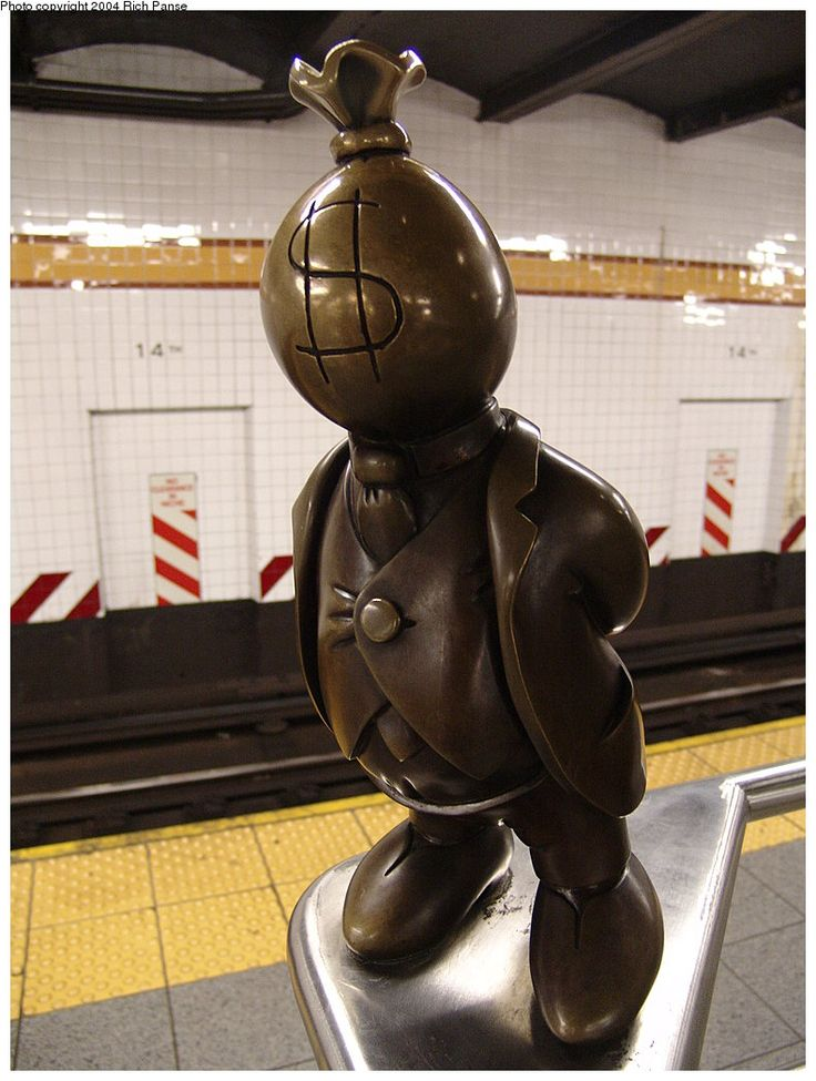 Tom Otterness' The Life Underground, 14th St.
