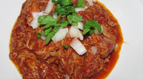 One of my favorite Mexican dishes is Birria de Res, a stewed spicy beef dish made with dried chiles. Normally it is only served on weekend and sometimes made with beef, goat, or lamb. Serve it up in...