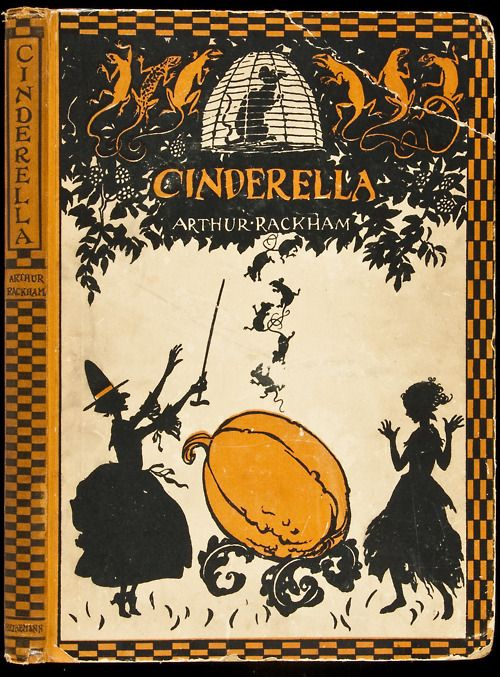 Cinderella C.S. Evans. Illustrated by Arthur Rackham. London/Philadelphia, Heinemann/Lippincott, 1919.