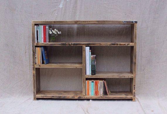 EDEN Reclaimed Wood Bookcase Handmade & by OldManAndMagpie
