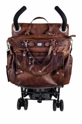 Sacs à langer - Sac à langer simili cuir marron  http://www.mammafashion.com/vetement-sacs_a_langer-femme-enceinte-lady_brown-2440.php