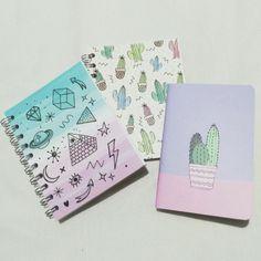 ideas para customizar tus cuadernos