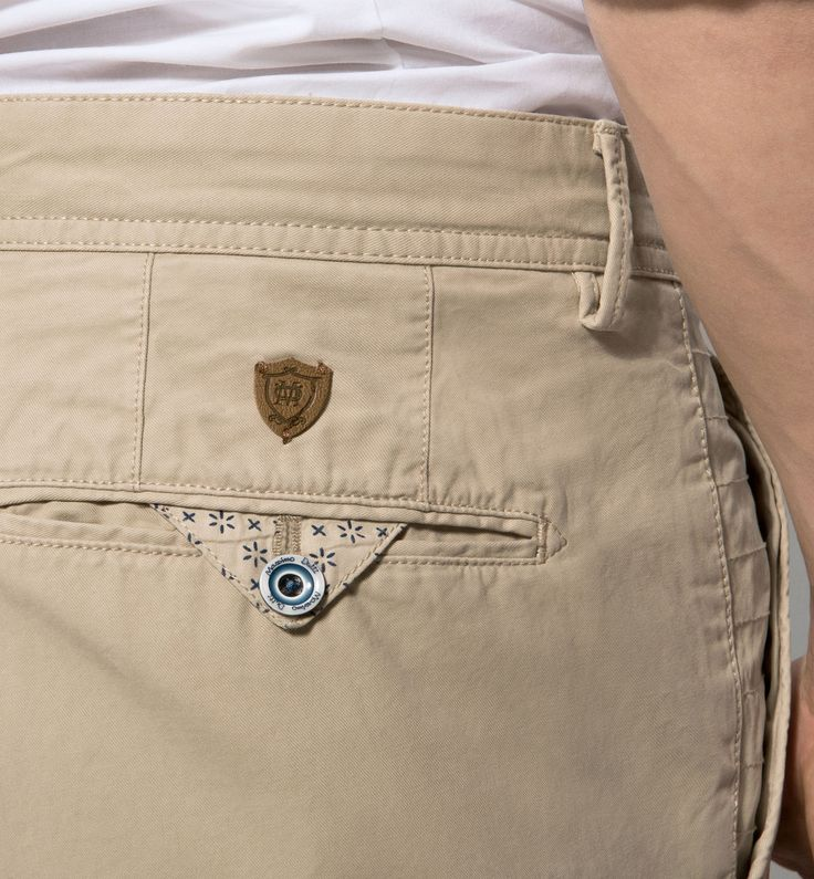 CASUAL FIT TWILL CHINOS More