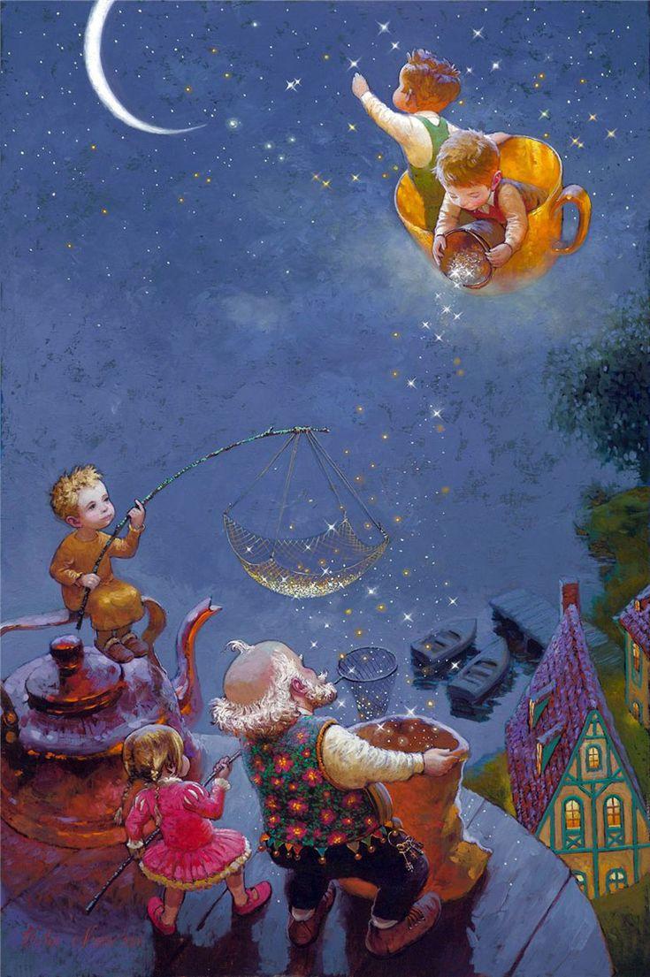 Днем рождения, советские открытки спокойной ночи