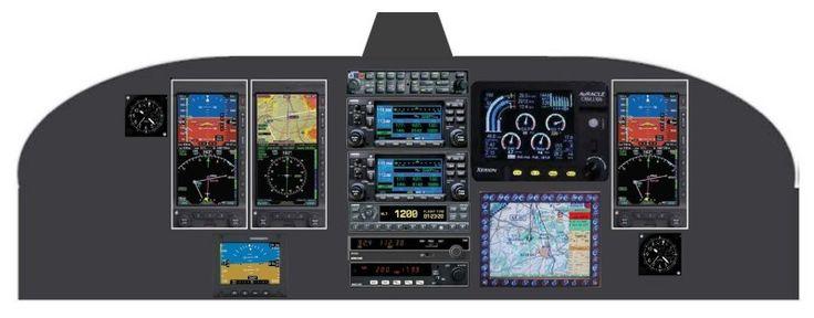 Scandinavian Avionics Glass Cockpit Layout 3 | MISL Aerospace