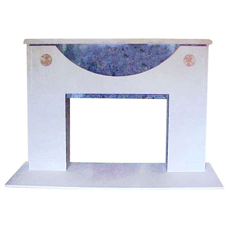 Ronn Jaffe's 'Onassis' Luxe Marble Fireplace Mantel