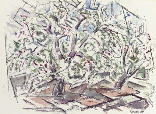 Art History News: JOHN MARIN at AUCTION