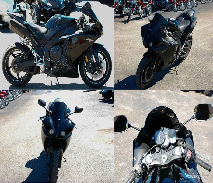 This #Yamaha YZF-R1 great looking #Sportbike is world's first production motorcycle with a crossplane crankshaft. The result? Incredibly smooth power delivery and outrageous torque for a rush like you've never experienced. So what are you waiting for just go and get it from Central Florida PowerSports for just $9489 in Kissimmee, FL, USA at USAMotorBike.Com