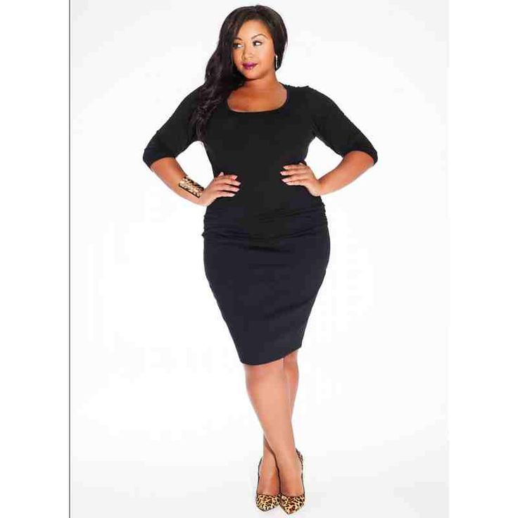 PRE-ORDER - Mindy Plus Size Top in Black $88.00 http://www.curvyclothing.com.au/index.php?route=product/product&path=95_96&product_id=8526