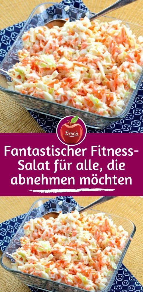 Fantastischer Fitness-Salat für alle, die abnehmen wollen  – EiscremevRezepte