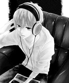 Wallpapers Anime Music Boy