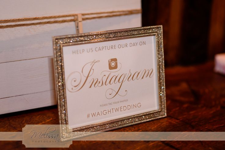 Sharing your wedding on Instagram #hashtags