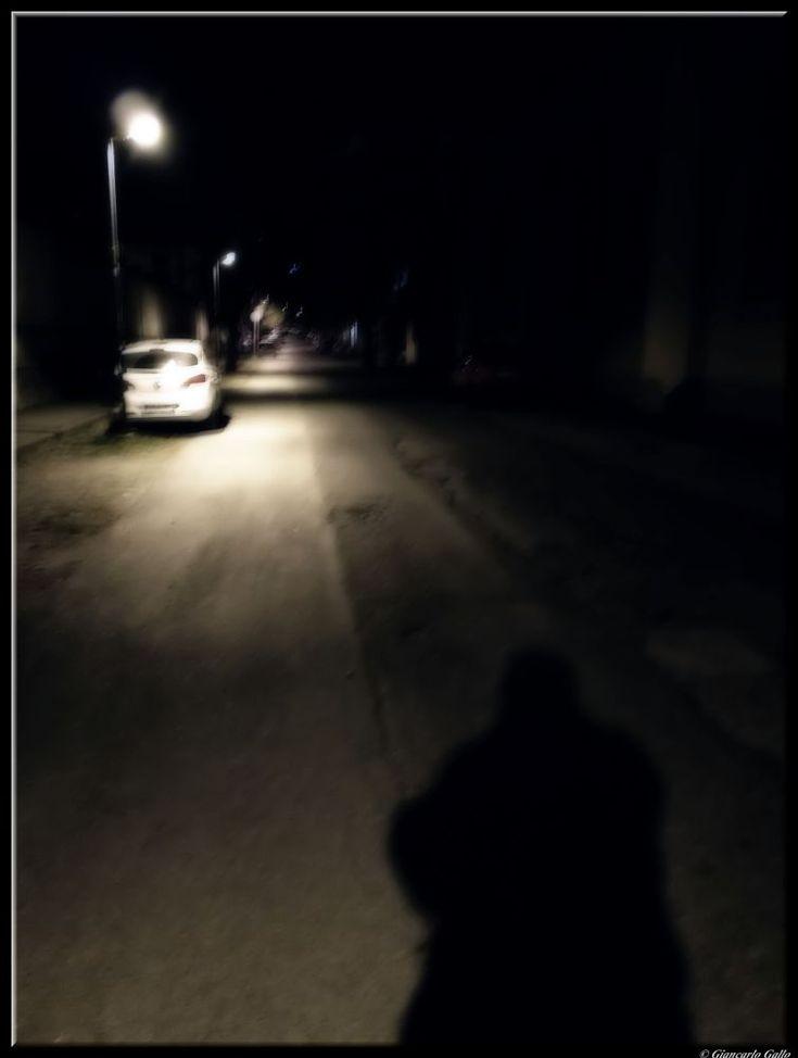 walking in the night by Giancarlo Gallo