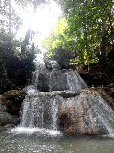 Airterjun Oehala air sudekat, Kupang, NTT