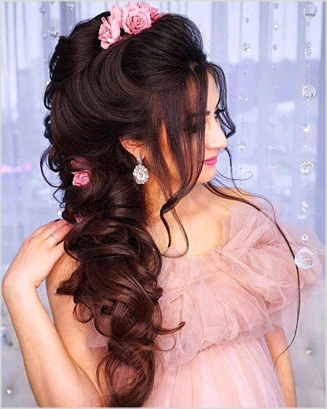 Who Does Not Want To Have The Ideal Hairstyles For Prom It May Be Difficult For You Really To Indian Wedding Hairstyles Bridal Hair Updo Hairstyles For Gowns