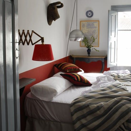 eclectic country small bedroom decorating | Eclectic bedroom | Bedrooms | Bedroom ideas | Image | Housetohome