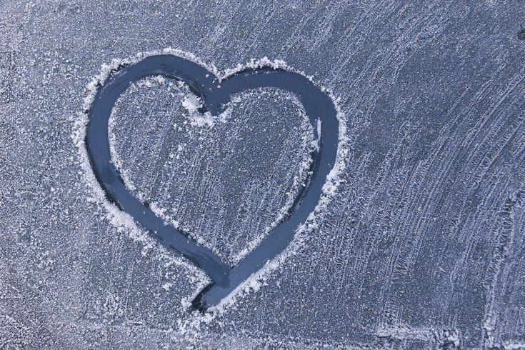 #car washer #cold #frost #frozen #heart #hoarfrost #winter