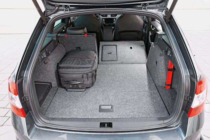 Skoda Octavia Combi RS 2.0 TSI, Kofferraum