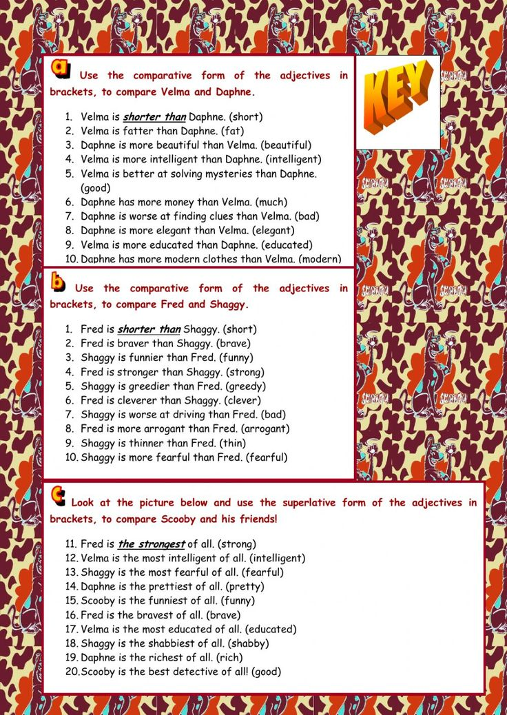 Four Seasons Worksheets For Kindergarten Excel  Best Comparatives And Superlatives Images On Pinterest  Missing Addends Worksheet Pdf with Sample Worksheet Word Comparatives And Superlatives Interactive And Downloadable Worksheet Check  Your Answers Online Or Send Them To House Flipping Worksheet Excel