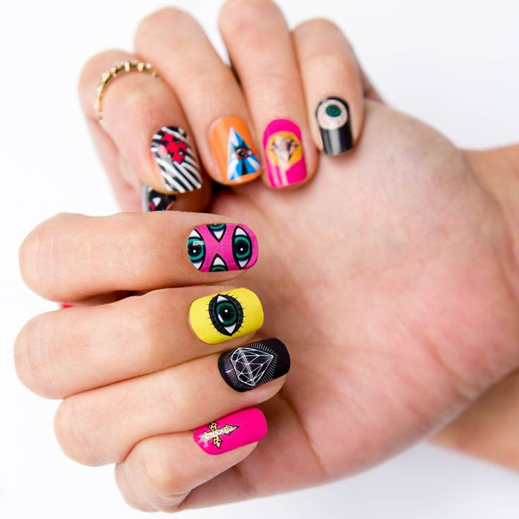 23 best gummi nails fall 2013 images on pinterest fall nail art in new age spirituality the third eye often symbolizes a state of enlightenment put on these uber cool gummi nails third eye designer nail wrap prinsesfo Choice Image