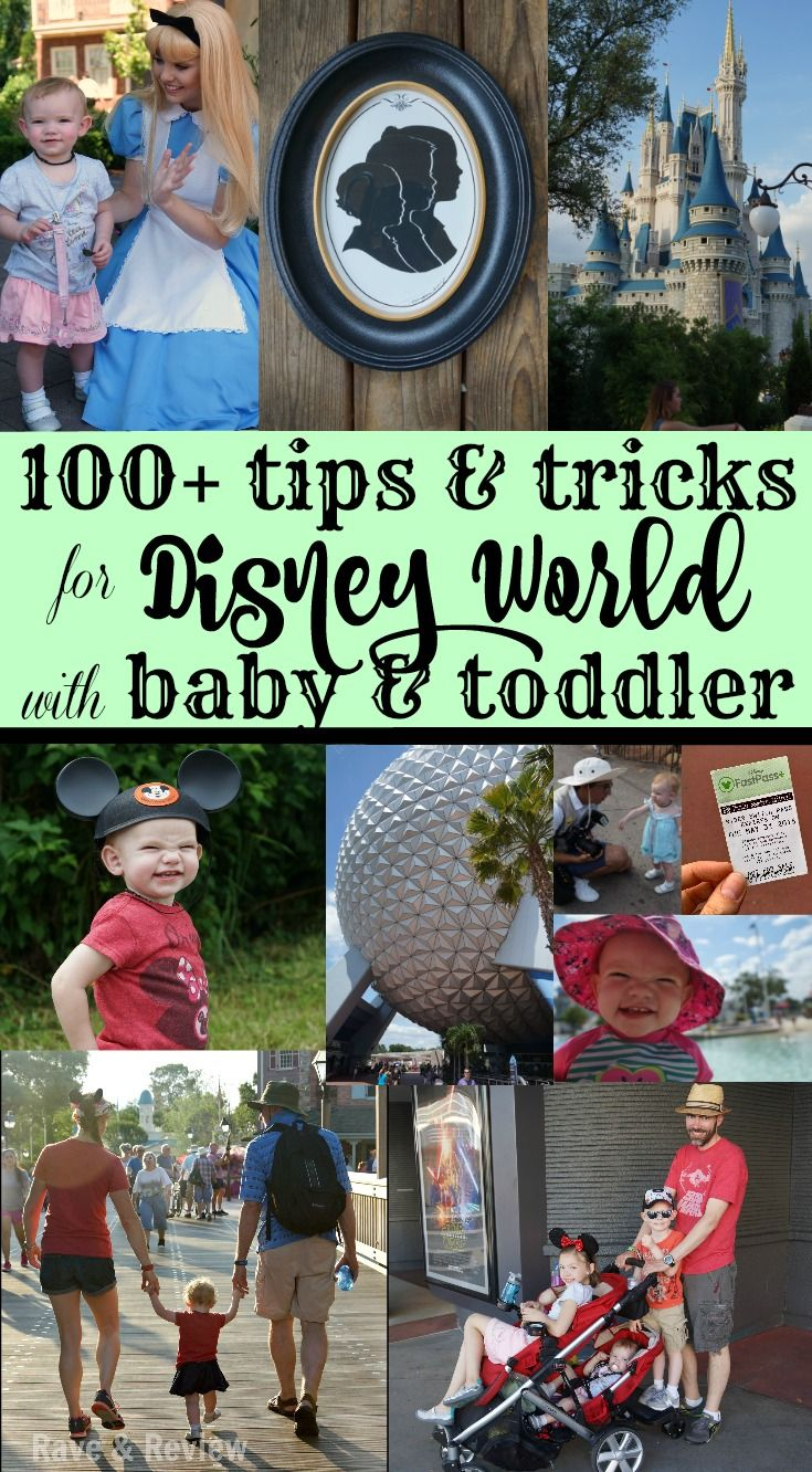 100+ AWESOME Tips & Tricks for Disney World with Baby & Toddler #DisneySMMC AD