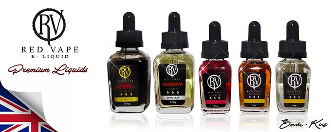 Red Vape Range of electronic cigarette e-liquid made with natural ingredients 100% AMAZING Red Vape has been working tirelessly to source the best natural ingredients for there International Collection of RV Premium e-liquids. They use only the best premium pharmaceutical grade nicotine and all their blends result in a 50% VG and 50% PG combination.
