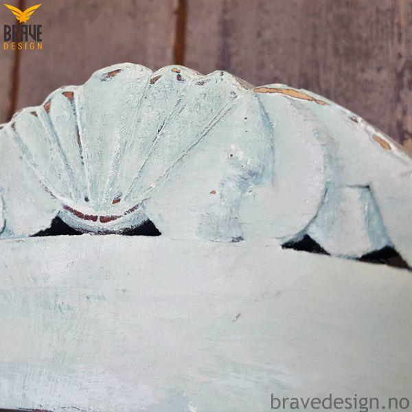 Moonstone - Vintro kalkmaling, delikat lys blå