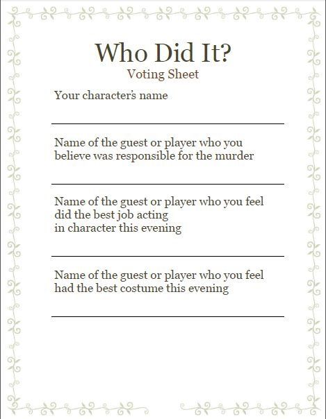 84 best Murder Mystery images on Pinterest Birthdays, My birthday - invitation wording for mystery party