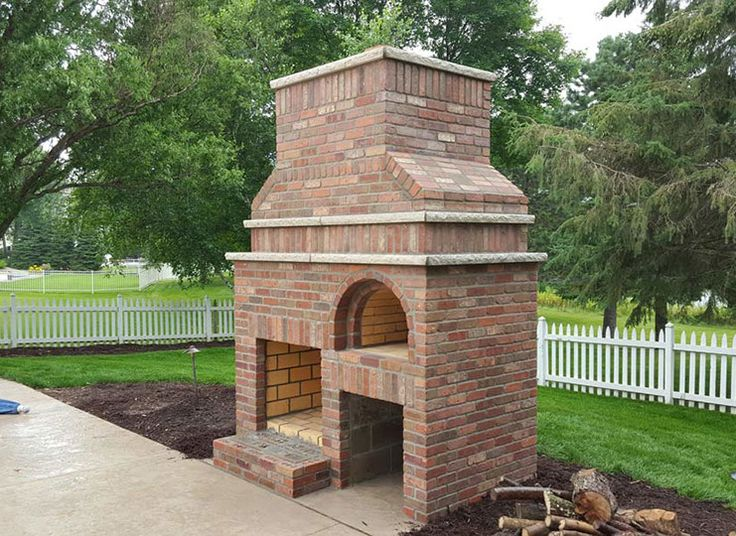 Outdoor Fireplace Wood Fired Pizza Oven By Brickwood Ovens