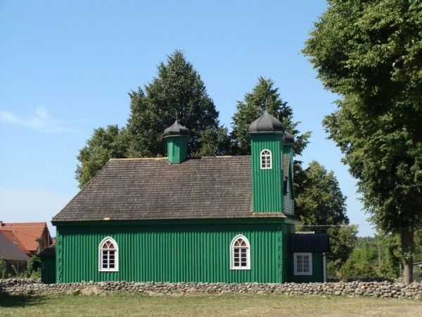 Meczet w Kruszynianach (fot. A. Mańczyna).