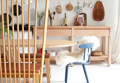 Binnenkijken in een Scandinavisch interieur met hout als hoofdelement
