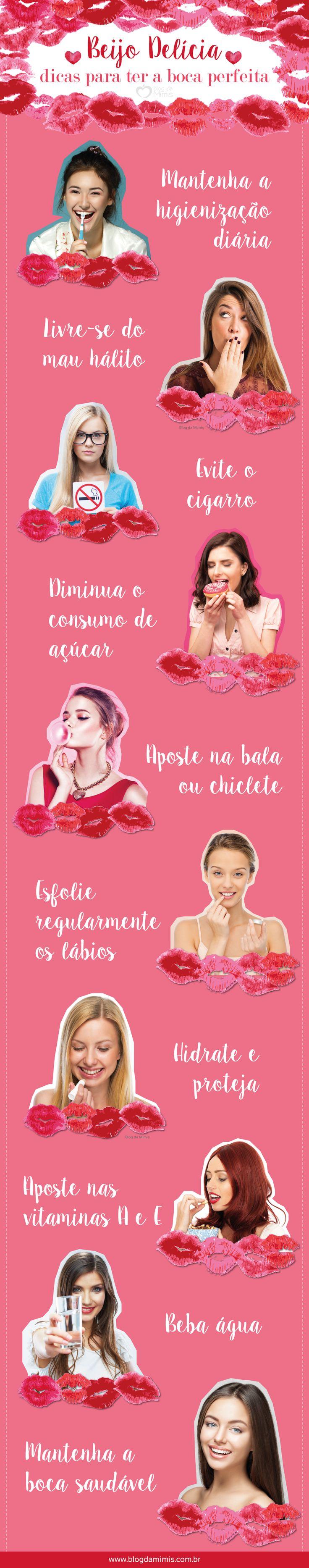 Beijo delícia: dicas para ter a boca perfeita