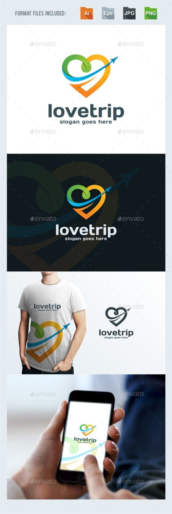 Traveling Logo Template — Transparent PNG #holiday #compass • Available here → https://graphicriver.net/item/traveling-logo-template/15586772?ref=pxcr