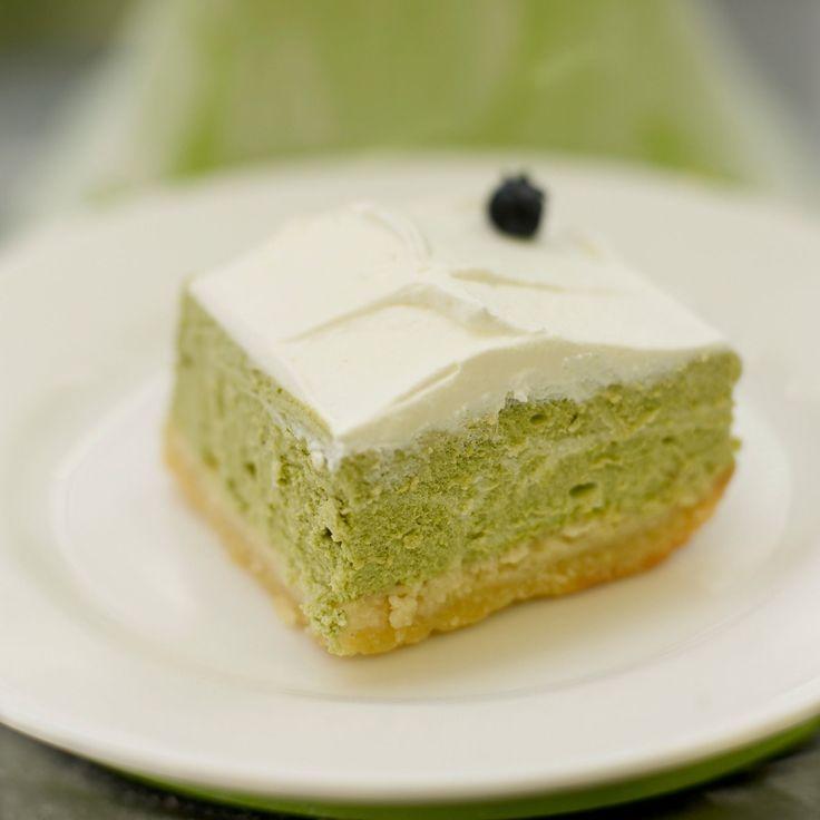 Découvrez la recette du cheesecake au thé vert du Japon