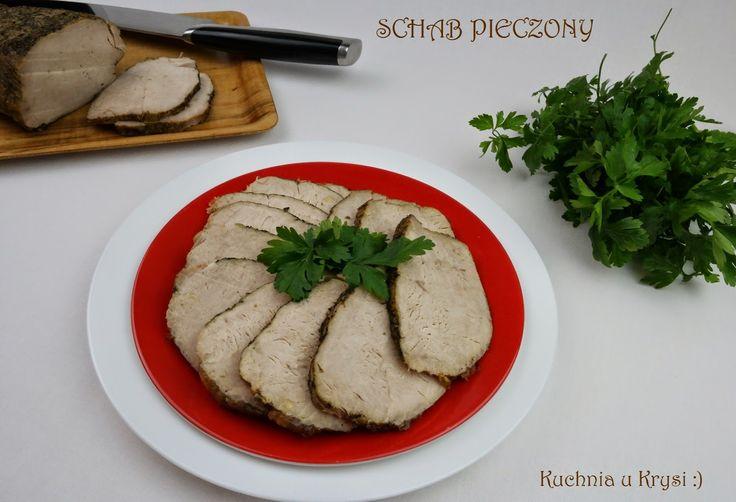 Kuchnia u Krysi : Schab pieczony, podany na zimno